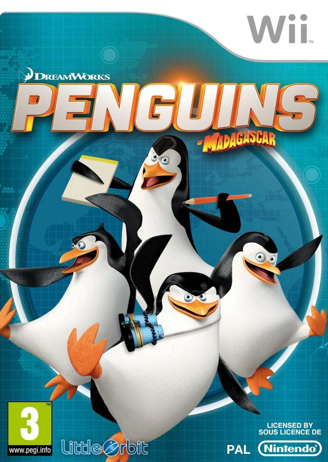 Boxshot Penguins of Madagascar