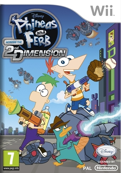 Boxshot Phineas & Ferb: Across the 2nd Dimension