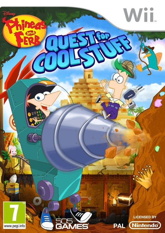 Boxshot Phineas and Ferb Quest for Cool Stuff
