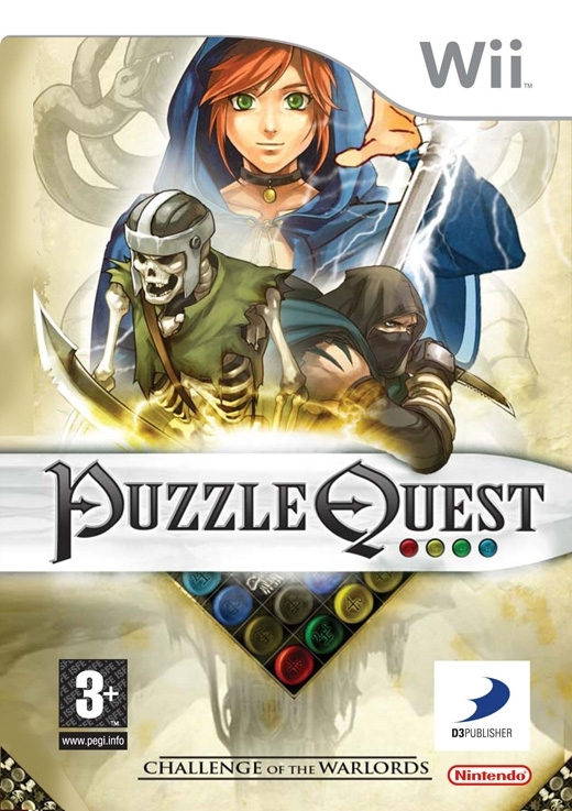 Boxshot Puzzle Quest: Challenge of the Warlords