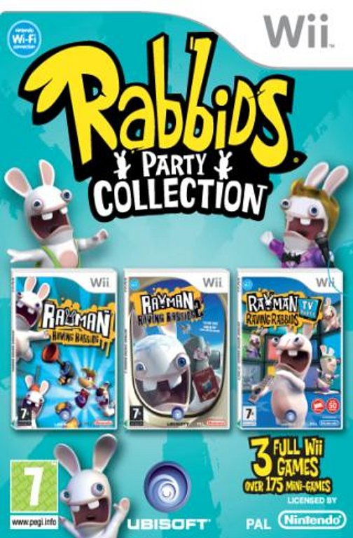 Boxshot Raving Rabbids Party Collection