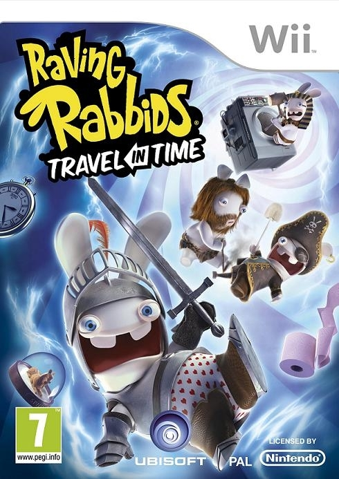 Boxshot Raving Rabbids Travel in Time