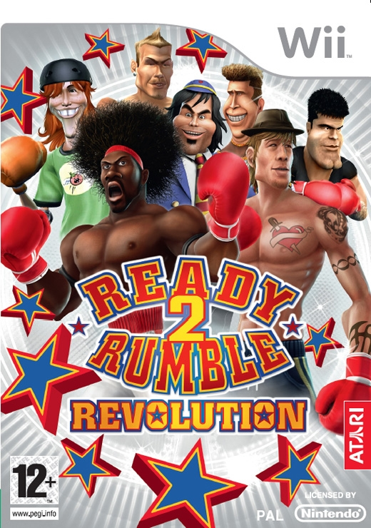 Boxshot Ready 2 Rumble Revolution