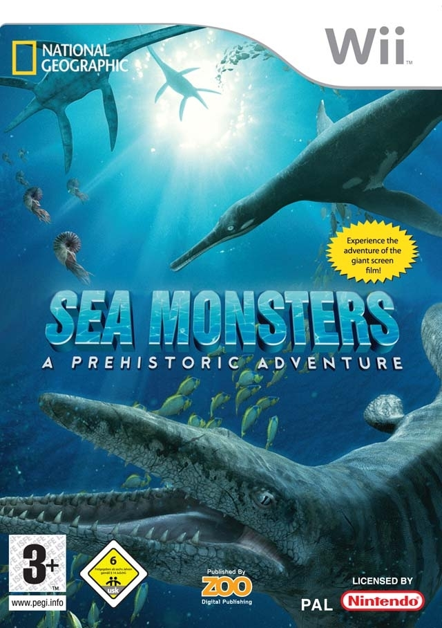 Boxshot Sea Monsters: A Prehistoric Adventure