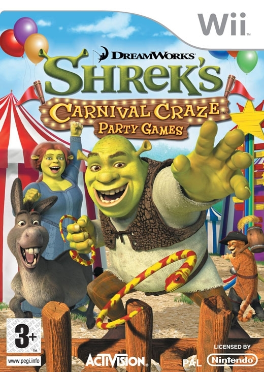 Boxshot Shrek: Crazy Party Games