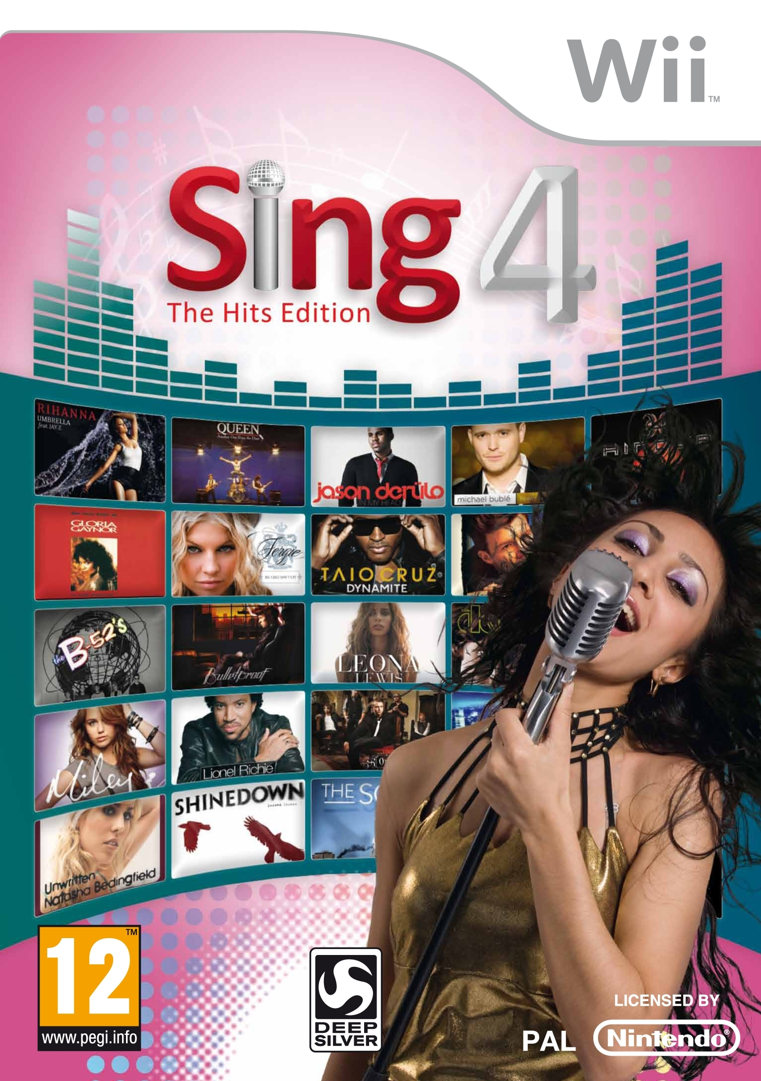 Boxshot Sing 4: The Hits Edition