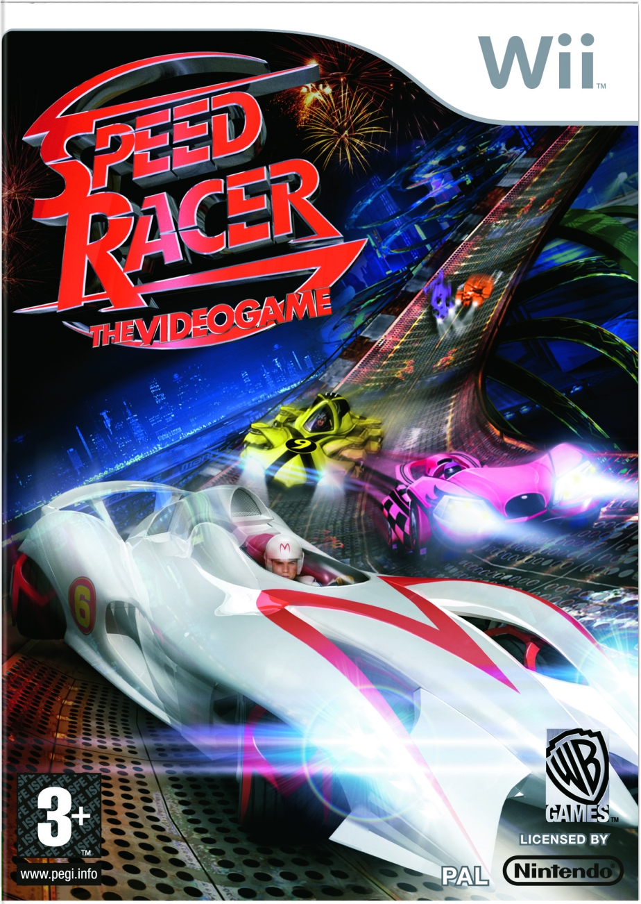 Boxshot Speed Racer: The Videogame