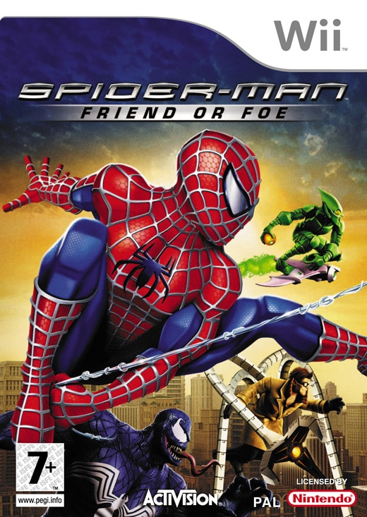 Boxshot Spider-Man: Friend or Foe
