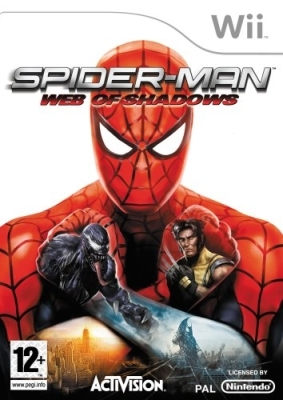 Boxshot Spider-Man: Web of Shadows