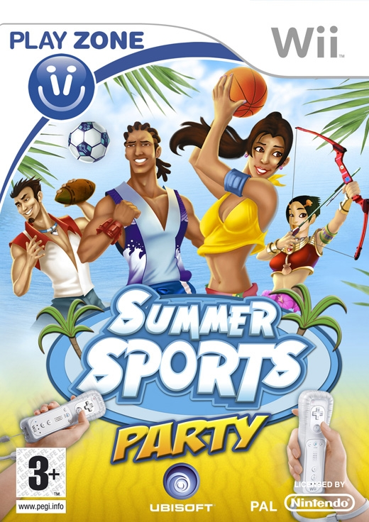 Boxshot Summer Sports Party