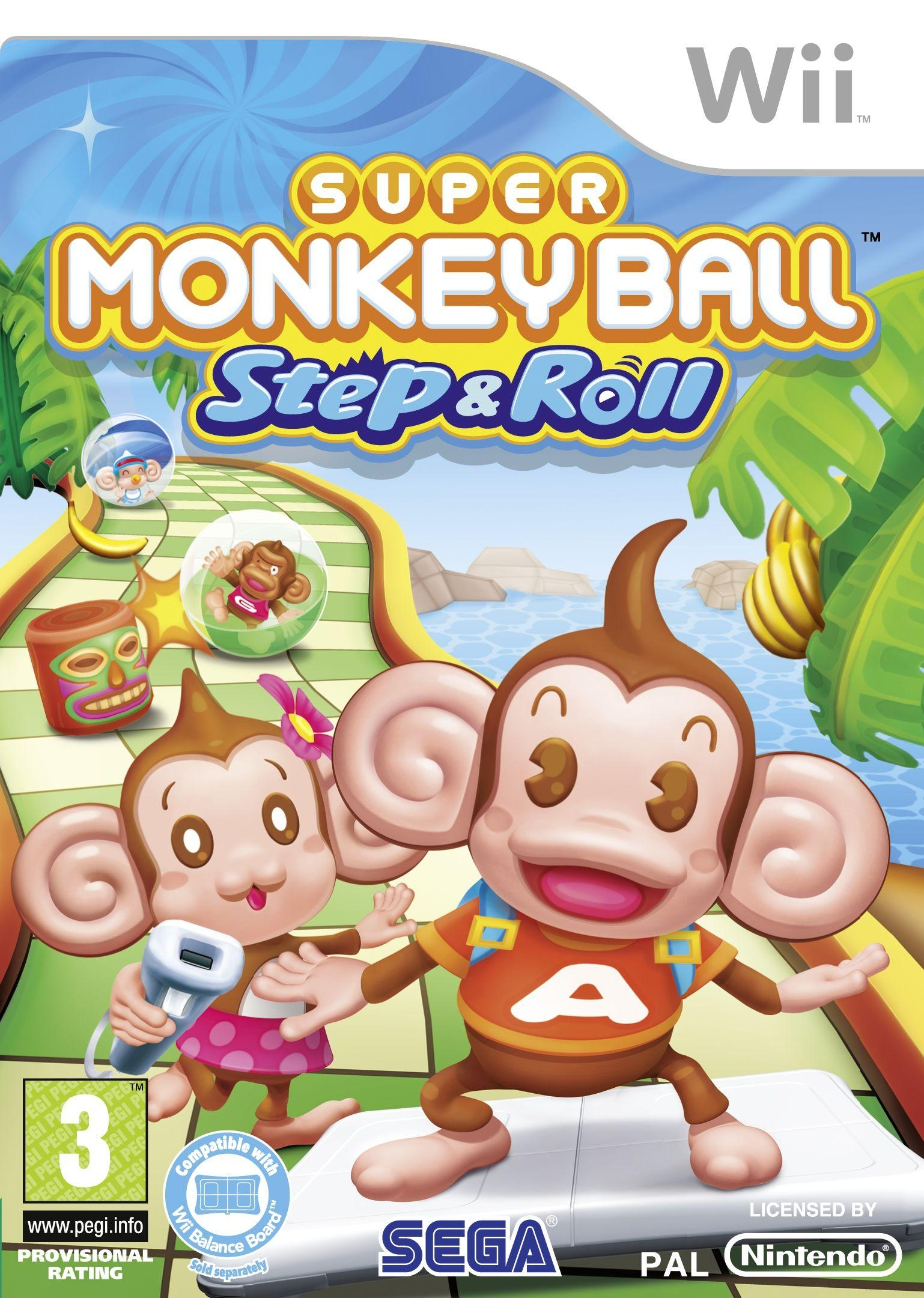 Boxshot Super Monkey Ball: Step & Roll
