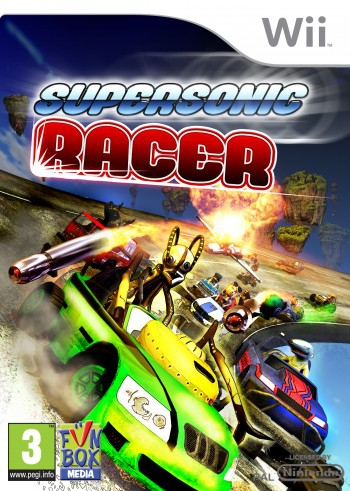 Boxshot Supersonic Racer