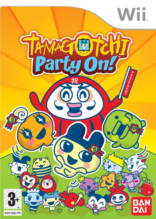 Boxshot Tamagotchi Party On!