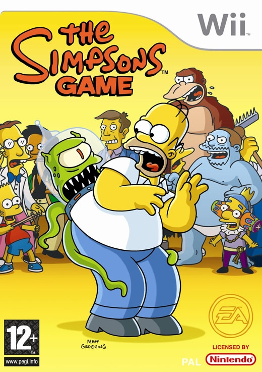 Boxshot The Simpsons Game