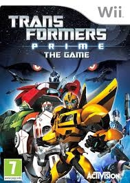 Boxshot Transformers Prime: The Game