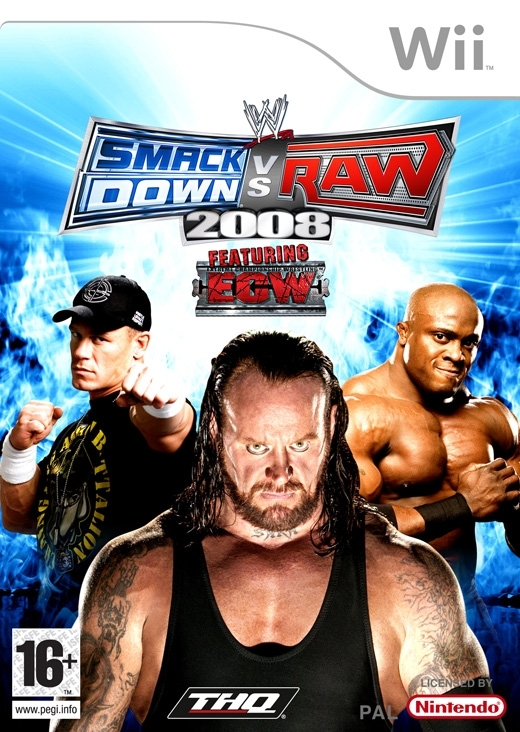 Boxshot WWE SmackDown vs. Raw 2008