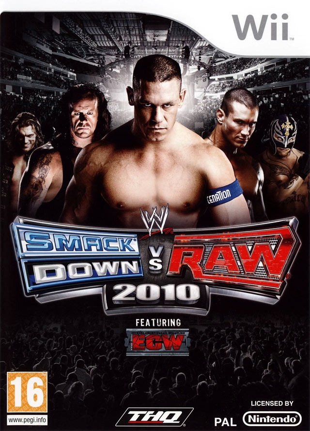 Boxshot WWE SmackDown vs. Raw 2010