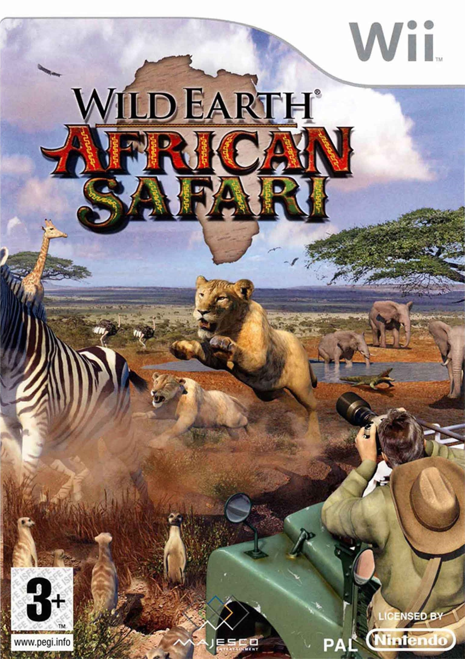 Boxshot Wild Earth: African Safari