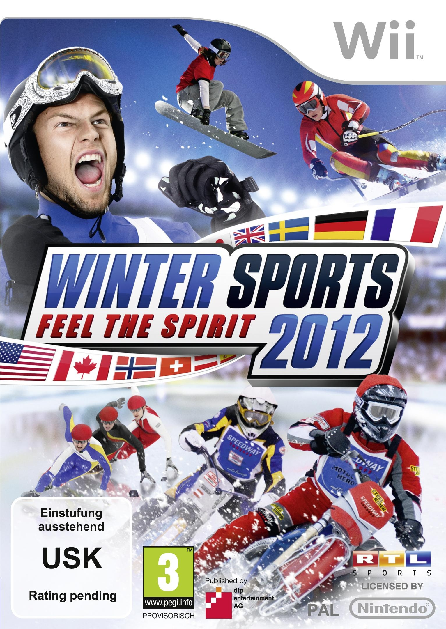 Boxshot Winter Sports 2012: Feel the Spirit