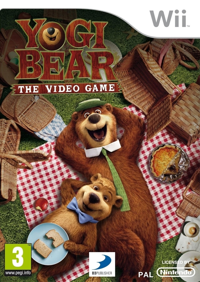 Boxshot Yogi Bear: The Video Game