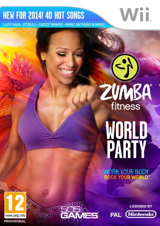 Boxshot Zumba Fitness World Party