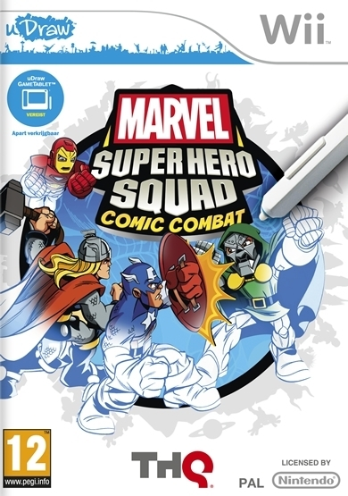Boxshot uDraw Marvel Super Hero Squad: Comic Combat