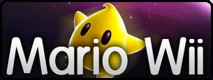 Logo Mario Wii