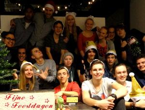 Mario Team met kerst