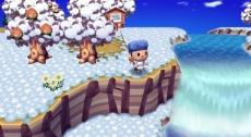 Review Animal Crossing: Let's Go to the City: De tijd loopt synchroon, dus ook de seizoenen veranderen mee.
