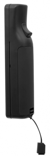 De achterkant van de <a href = https://www.mariowii.nl/wii_spel_info.php?Nintendo=Wii-afstandsbediening>remote</a>