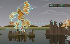 Review Blast Works: Build, Trade, Destroy: Verzamel zo veel mogelijk wrakstukken om je schip te laten groeien.