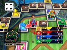 Review Boom Street: Hier zie je één van de spelborden met nog wat plotjes te koop.