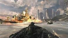 Review Call of Duty: Modern Warfare 3: Soms zul je in de singleplayer ook moeten schieten vanaf voertuigen.