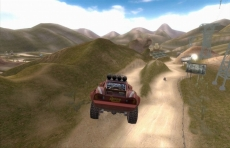 Review Cars Race-O-Rama: Hier een magajumps in de woestijnrace.