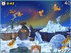 Review Chicken Shoot: Zie ik daar nou zonnebadende kippen in de sneeuw?
