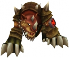 Review Crash of the Titans: Dit is een van de mutanten die Crash moet beheersen; de Rhinoroller