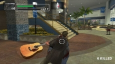 Review Dead Rising: Chop Till You Drop: Met een gitaar inhakken op zombies? Niets is te gek in Dead Rising: Chop Till You Drop.
