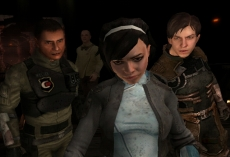 Review Dead Space Extraction: In Dead Space: Extraction speel je met meerdere personages.
