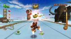 Review Donkey Kong Jet Race: Een aap met een stropdas die over het ijs vliegt? Raar hoor!