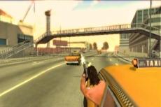 Review Driver: Parallel lines: Sturen met de <a href = http://www.mariowii.nl/wii_spel_info.php?Nintendo=Wii_Nunchuk>nunchuck</a>, richten en schieten met de remote