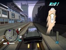 Review Driver: San Francisco: Geef jezelf een flinke boost met de <a href = https://www.mariowii.nl/wii_spel_info.php?Nintendo=Wii_Nunchuk>Nunchuck</a>.