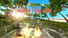 Review Excite Truck: Ook lang genoeg met volle vaart door een bos bomen rijden kan je sterren opleveren.