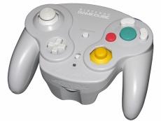 Review Gamecube Controller: Een grijze Wavebird GameCube controller (draadloos).