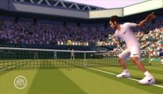 Review Grand Slam Tennis: De nieuwe grafische stijl van Grand Slam Tennis ziet er wat cartoon-achtig uit.