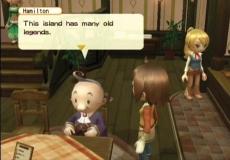 Review Harvest Moon: Tree of Tranquility: Het is ook belangrijk om met de locals van het dorpje te praten, en zo dingen te weten te komen