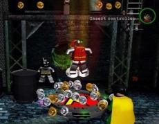 Review LEGO Batman: The Videogame: Hier zie je het magneet pakje van Robin