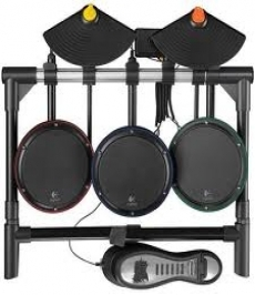 Review Logitech Premium Drum Kit: Het drumstel als je het opvouwt