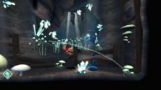 Review LostWinds: De grotten zien er een stuk minder leuk en kleurrijk uit als de wereld boven de grond.