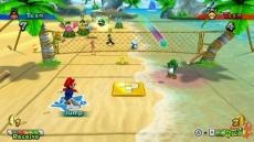 Review Mario Sports Mix: Groene schilden, bananen, vloedgolven: gevaar alom in Mario Sports Mix.