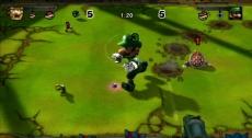 Review Mario Strikers Charged Football: Het omver walsen van tegenstanders gaat een stuk makkelijker met een leuke power-up!